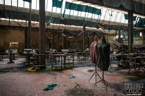 the knitting factory proj3ctm4yh3m exploration urbex the knitting