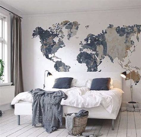 bedroom mural ideas 25 best ideas about world map bedroom on