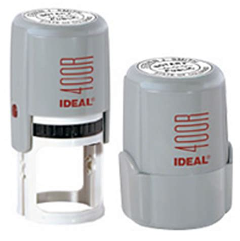ideal rubber st 400r self inking corporate seal st