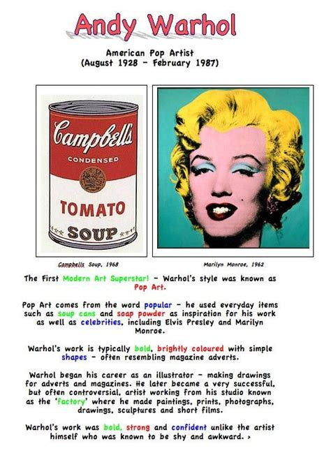 1000 images about quot andy warhol quot pop inspired