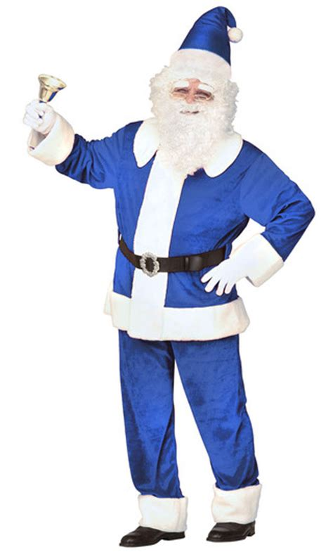 blue santa blue santa claus suits pictures to pin on