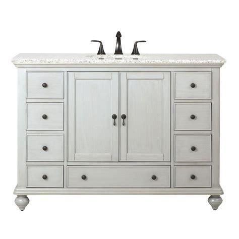 home decorators bathroom vanities home decorators collection newport 49 in w x 21 1 2 in d