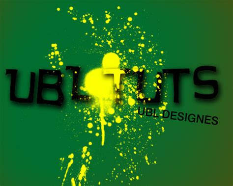 spray paint effect photoshop 50 great photoshop text effect tutorials part ii hongkiat