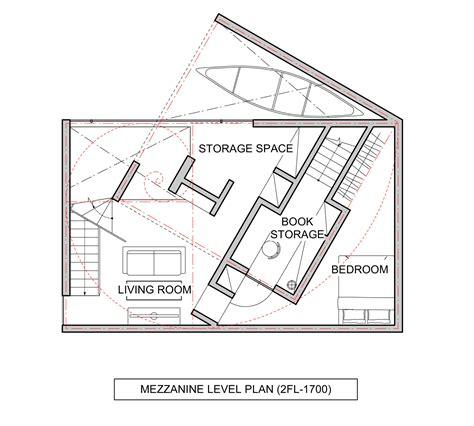 house with mezzanine floor plan northern nautilus takato tamagami archdaily