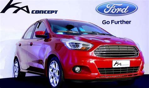 ford ka concept sera europ 233 enne en 2015 automobile