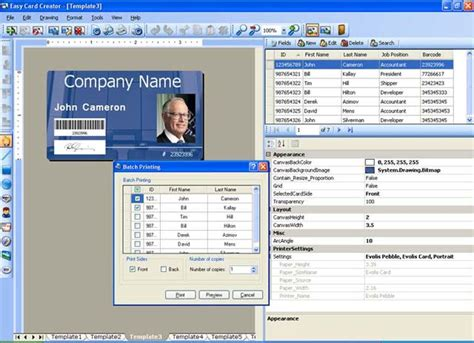 identity card software free easy card creator professional the most versatile