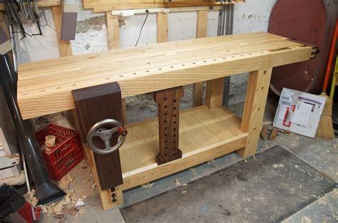 best woodworking workbench tww benchcrafted split top roubo bench finewoodworking