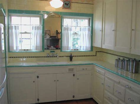 How To Update Old Kitchen Cabinets cute 1930s kitchen misscandydarling flickr