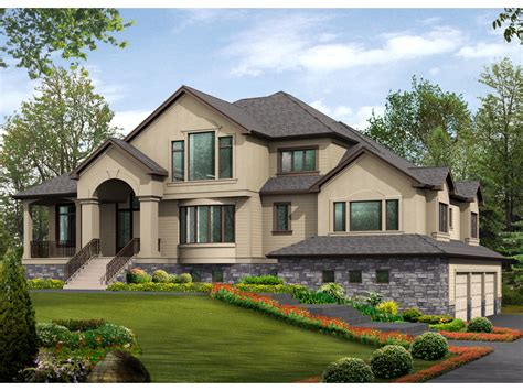 multi level home floor plans gardencrest rustic home plan 071s 0034 house plans and more