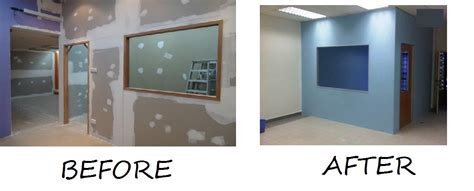 Flooring Plan gypsum board partition