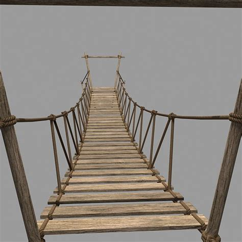 Home Interior Concepts rope bridge 3d model by polysmith3d 3docean