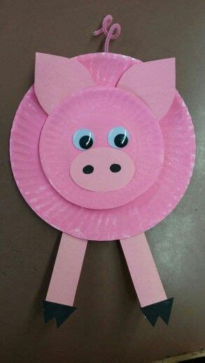 pig paper plate craft 1000 ideas about pig crafts on crafting