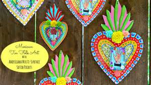 mexican arts and crafts for mexican tin folk craft