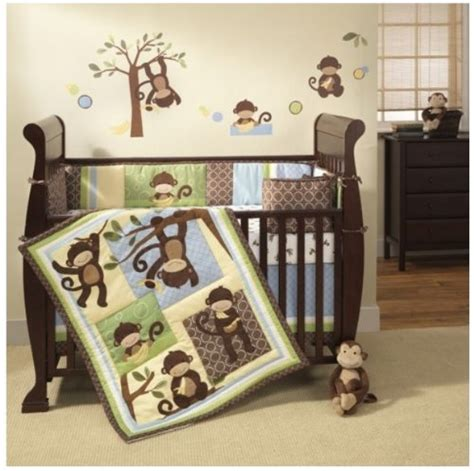 monkey crib bedding best cheap monkey crib set 4 monkey crib bedding