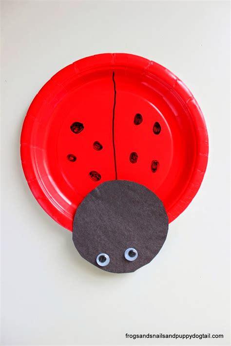 paper plate ladybug craft ladybug paper plate craft fspdt