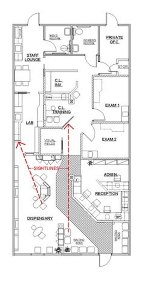 optometry office floor plans 1000 ideas about office design on