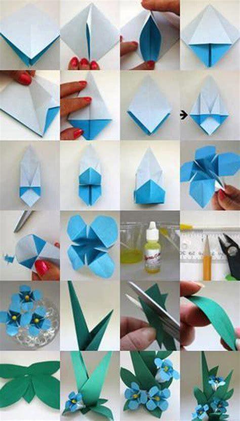 easy step by step origami flowers diy origami flowers step by step tutorials k4 craft