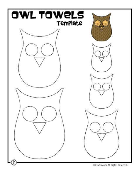 printable owl template woo jr kids activities