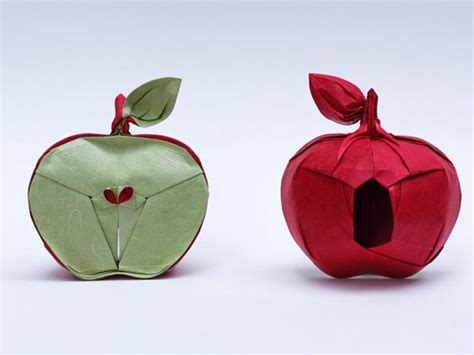 origami apple 44 best images about origami on