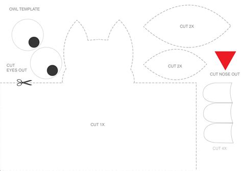 crafts templates owl craft for template speech room style
