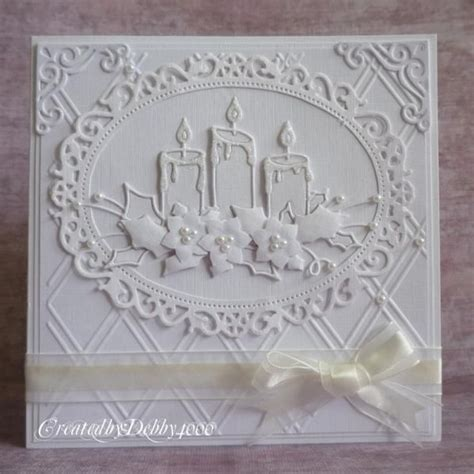 cutting dies for card handmade card glowing candles by debby4000
