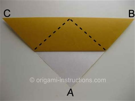 origami cat ears origami folding how to make an origami cat
