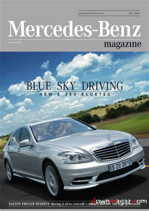 Mercedes Magazine by Mercedes Magazine 2011 Issue 1 187 Pdf