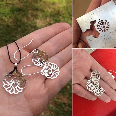 how to make silver jewelry a style pendant earrings