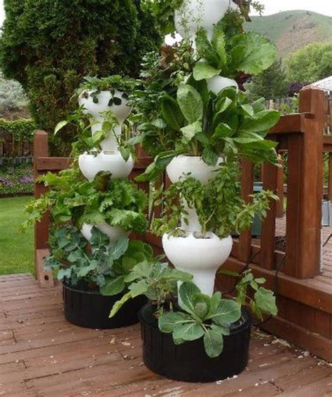 tower vegetable garden 27 tower garden ideas for vertical gardening homesteading