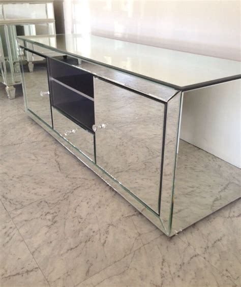 mirrored tv cabinet mirrored tv cabinet 017家具 矮柜 tvs tv cabinets and cabinets