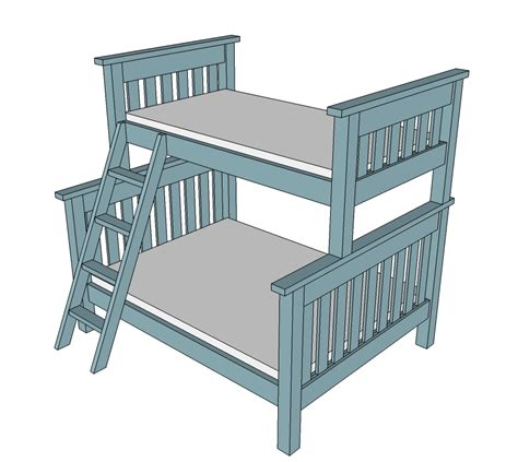 simple bunk bed plans white simple bunk bed plans diy