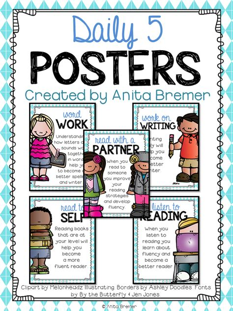read free mrs bremer s class free daily 5 posters
