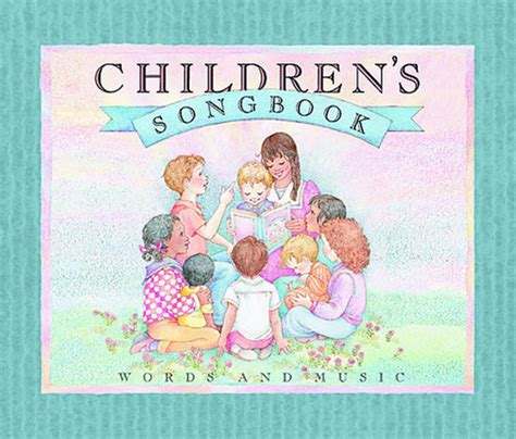 my picture book of songs children s songbook words and deseret book