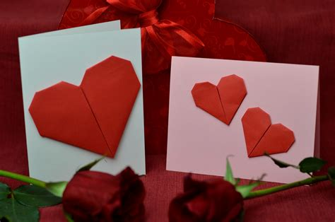 origami valentines card top 10 ideas for s day cards creative pop up cards