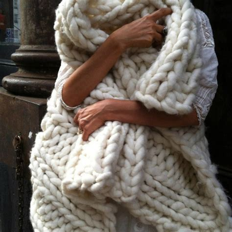 knitting a big blanket chunky knit throw blanket a cottage in the city