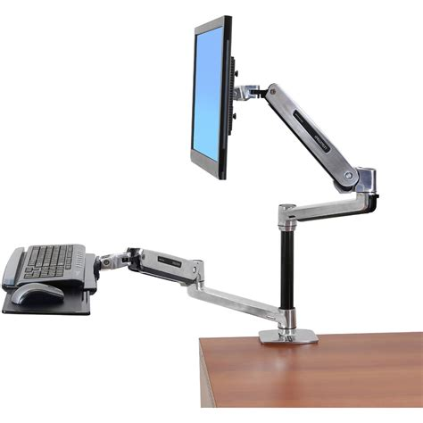 lx desk mount lcd arm lx sit stand desk monitor arm ergotron 45 360 026