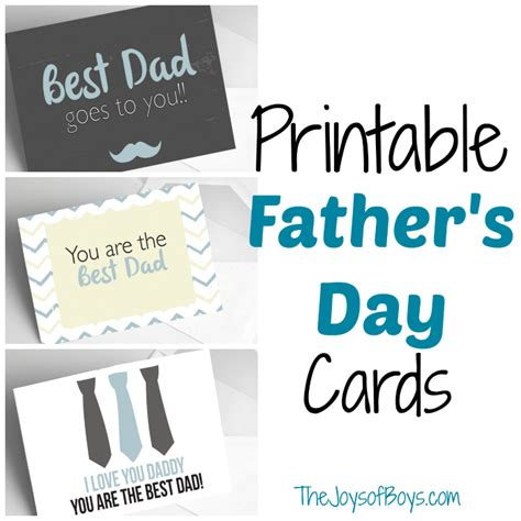 for day printable s day cards the joys of boys