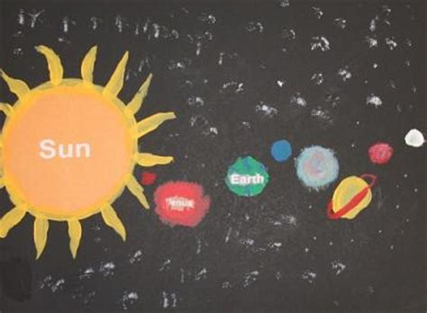 solar system arts and crafts for solar system craft projects lovetoknow