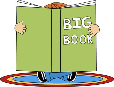 book the big picture big book clipart