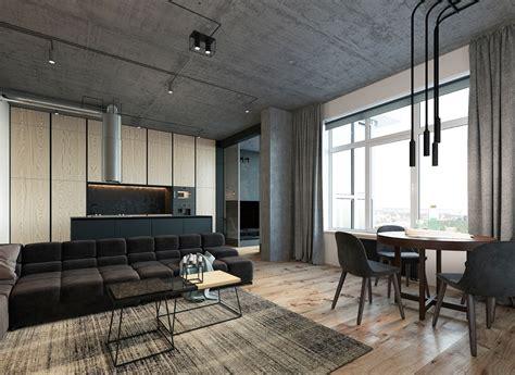 open loft floor plans 3 concrete lofts with wide open floor plans
