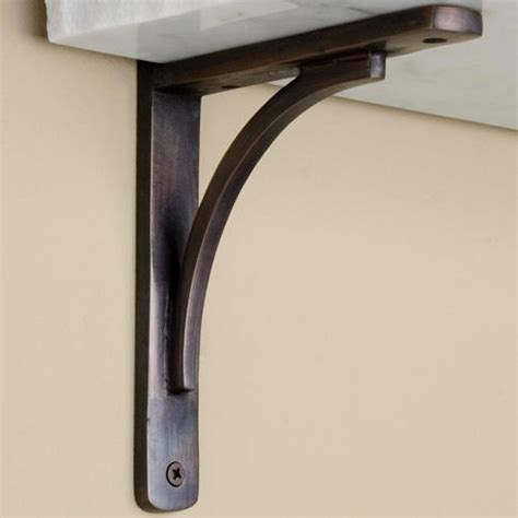 metal brackets for shelves decorative metal shelf brackets homesfeed