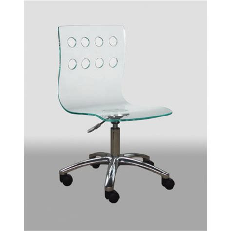 acrylic desk chair acrylic desk chair wayfair