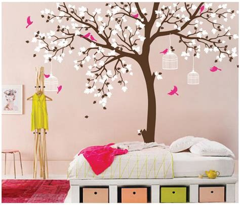 wall decor tree stickers popular tree wall mural buy cheap tree wall mural lots