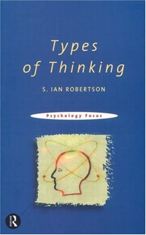 thinking in pictures book types of thinking by s robertson reviews discussion