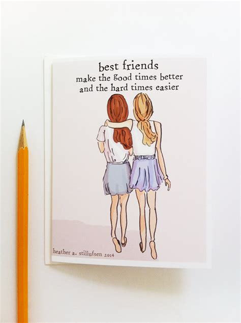 cards to make for your best friend miss you card best friends card bon voyage card miss you