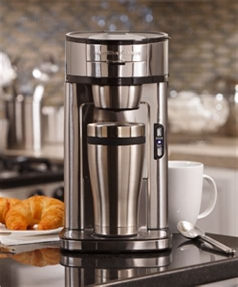The Scoop® Single Cup Coffee Maker   One Cup Coffee Maker   Hamilton Beach
