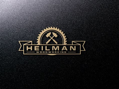 woodworking logo playful logo design for abraham by
