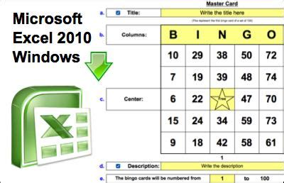 how to make bingo cards in excel create free bingo cards bingo card generator