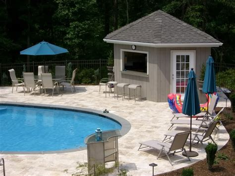 pool house plans free free diy pool house plans home design and style