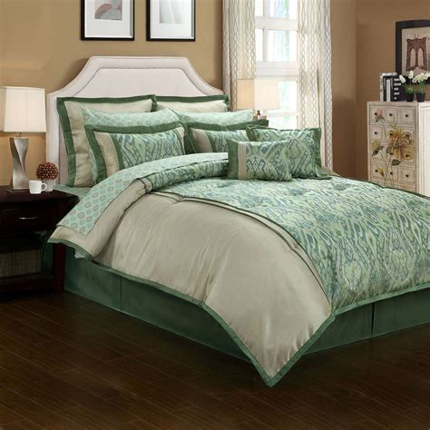 complete bedding set with sheets jcpenney topaz ikat 12 pc complete bedding set with